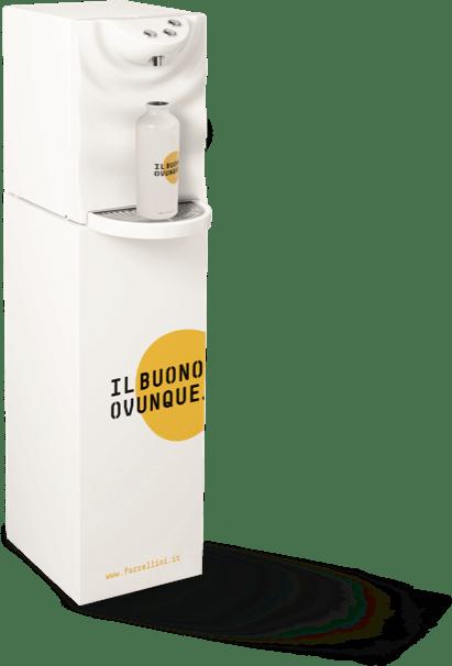 Erogatore d'acqua microfiltrata